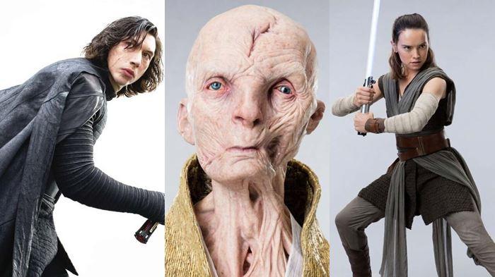 Kylo Ren, Líser Supremo Snoke e Rey
